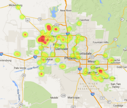 Phoenix solar home sales May 2015